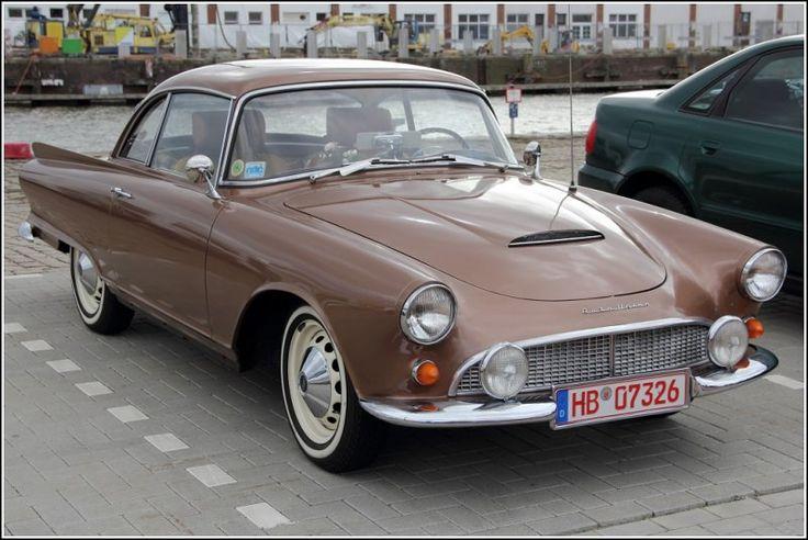 Auto Union 1000 Sp, Frontansicht. Gesehen am Rande des US-car Treffens in Bremerhaven am 15.04.2012.