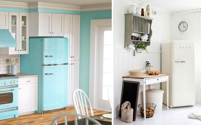 Los frigoríficos Smeg en la decoración de cocinas