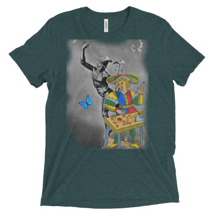 T-shirt unisex Serie The Tarot Il Mago            Alori 1961