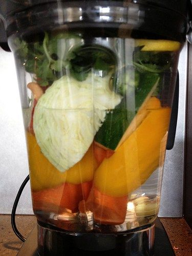 The Vitamix 7500 is GLORIOUS + That Thai Soup Recipe from the Vitamix Demonstration | Diary of a Pampered Housewife