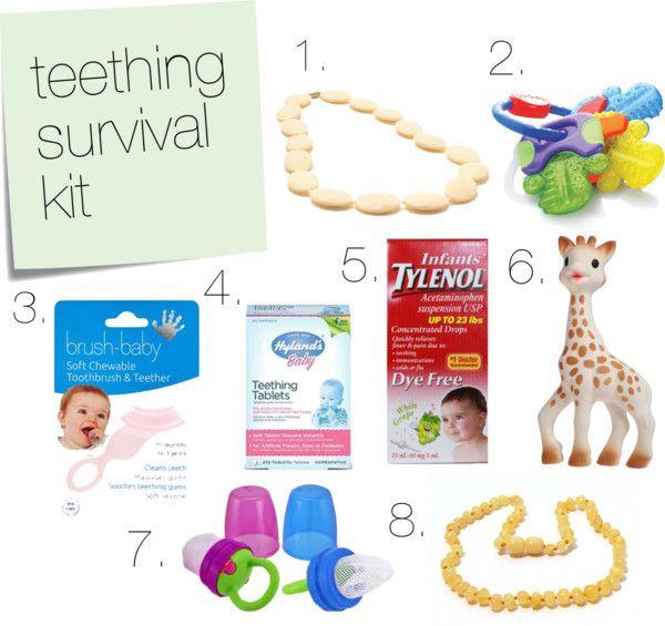 Teething survival guide