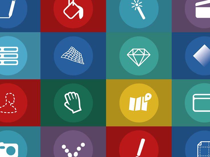Icons for Premium Courses