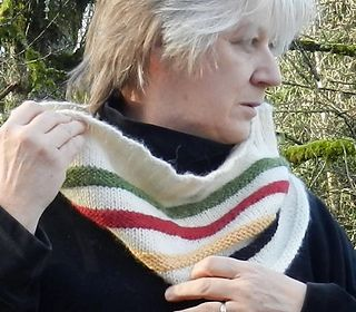For Canadians, the cream and 4 colour stripes - green, red, yellow and black are readily recognizable and associated with the Hudson's Bay blanket and a part of our heritage.