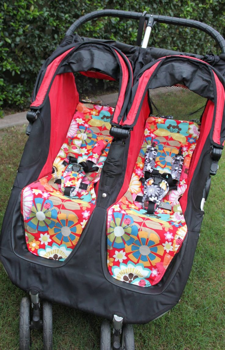 City Mini DOUBLE Pram Liner Pattern/ Pdf Sewing Pattern for Baby Jogger City Mini Double Pram/Stroller by Muffyduckdesign on Etsy