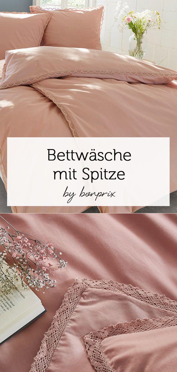 Die Romantische Bettwäsche Spitze Lädt Zum Träumen Ein In 2019