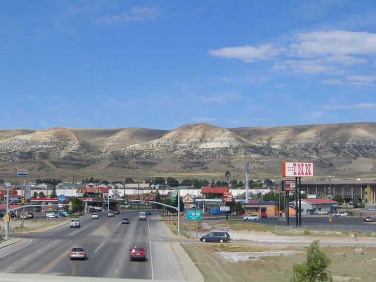 Rock Springs, Wyoming : that's what I remember, lots of nothing but tumble weeds, wind and brown