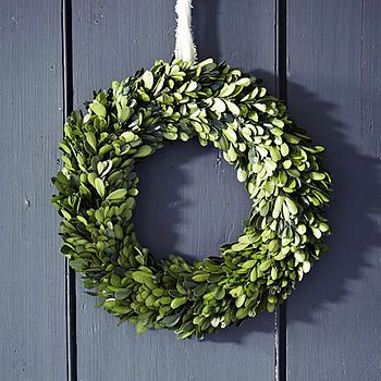 Real Buxus Christmas Wreath