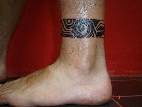 Maori Tattoo Ankle: 22 Best Mauri Tattoo Designs Band Images On Pinterest