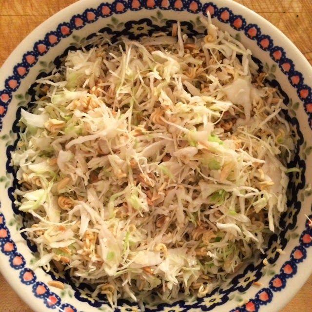 Recipe: Ramen Noodle Slaw