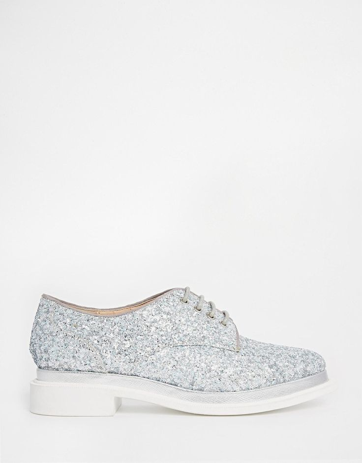 ASOS+MOODIE+Glitter+Lace+Up+Shoes