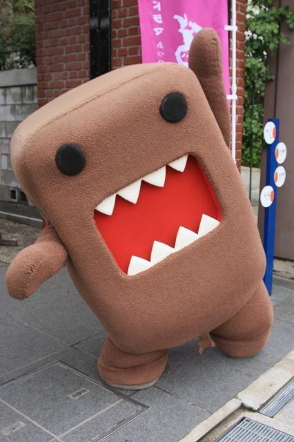 If I had to be a mascot this would be it.   Doomo-Kun, Mascot of NHK(Nippon Hosso Kyokai)