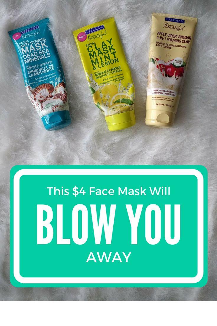 Sea clay facial skin care