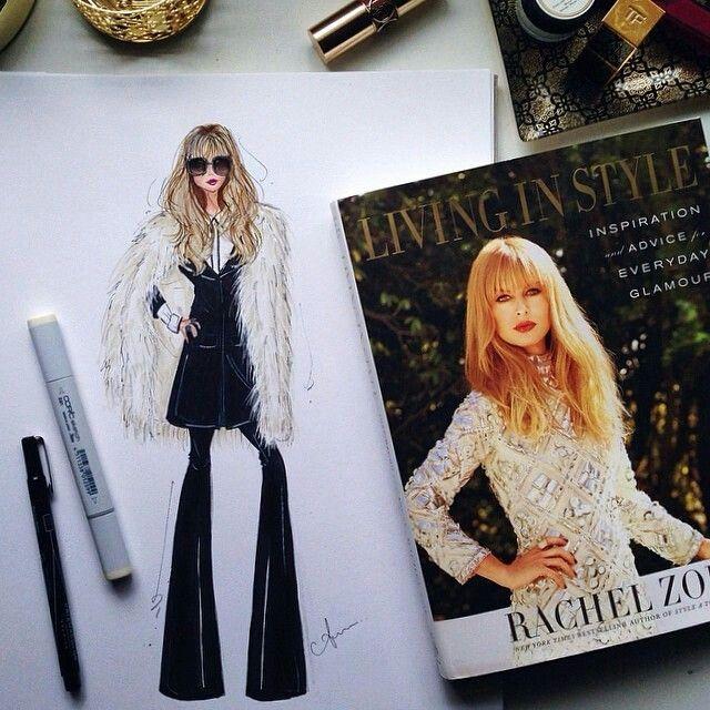 Rachel Zoe Genius Décor Ideas From Instagram: Bocetos, Dibujos