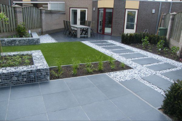 Het Palet tuinontwerp - Moderne achtertuin