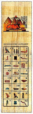 Scarica Papiro Egiziano Con L'alfabeto Dei Geroglifici Fotografia Stock a gratis o a partire da $0.20USD. I nuovi utenti risparmiano il 60% 22,888,225 ad alta risoluzione foto stock e vettoriali illustrazioni. Immagine: 8582720