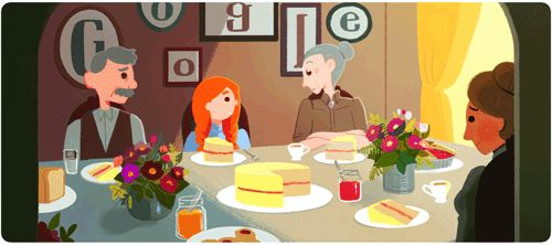 What's Making Anne of Green Gables Turn Green in the Latest Google Doodle?