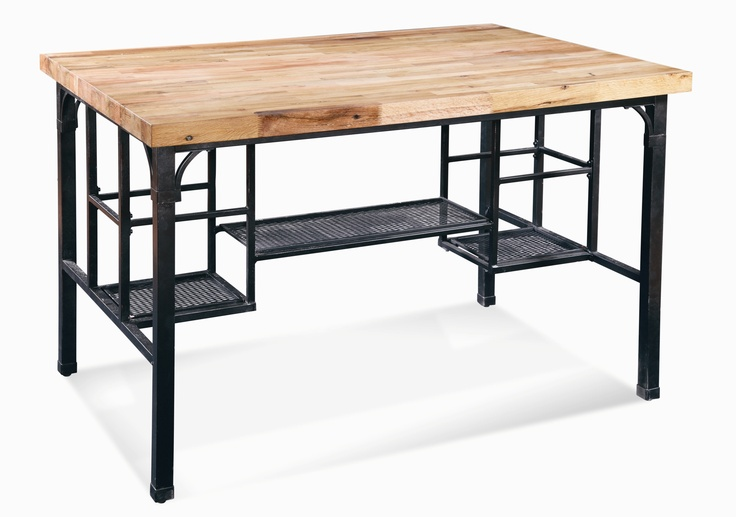 1000 images about current custom butcher block table design inspiration on pinterest red. Black Bedroom Furniture Sets. Home Design Ideas