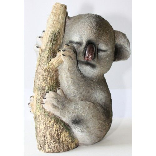 DAYDREAMING HAPPY KOALA SLEEPING ON TREE REALLY CUTE 25CM REALISTIC LOOKING !  $29.99