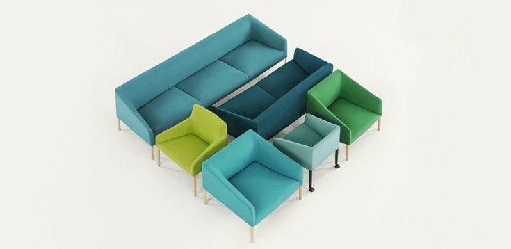 ספות מעצבים Saari מאת Arper, מעצב Lievore Altherr Molina
