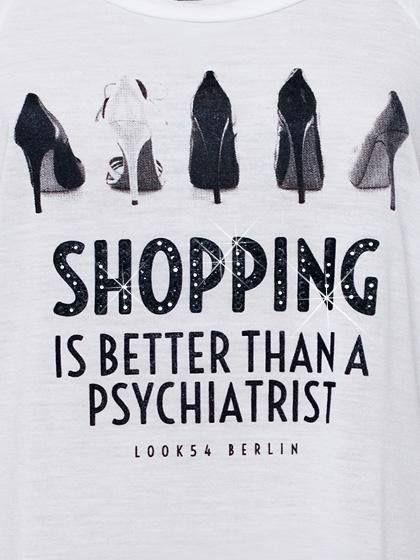 Shopping quote Zitat Sprüche
