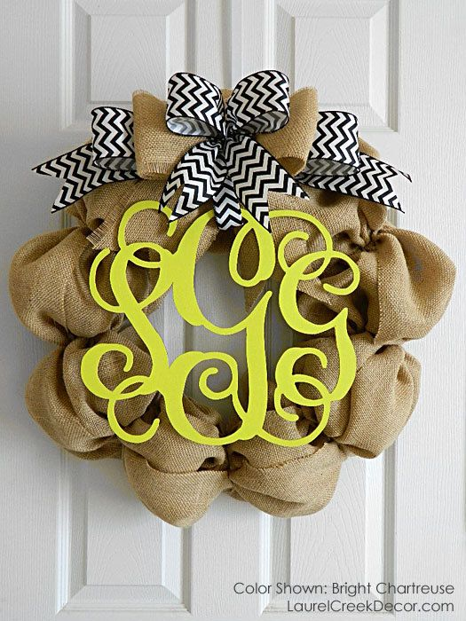 Love the idea of this wreath