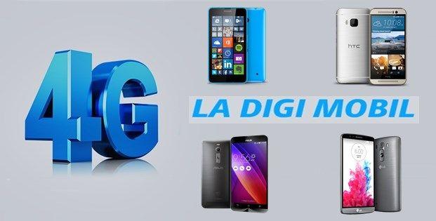 Smartphone-uri 4G compatibile cu rețeaua 4G Digi Mobil / RCS-RDS