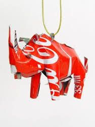 recycled plastic rhinoceros - Google Search
