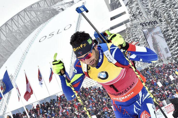 Martin Fourcade during the IBU Biathlon World Championships Men's & Women's Pursuit - OSLO 2016 - © Vianney THIBAUT/Agence Zoom