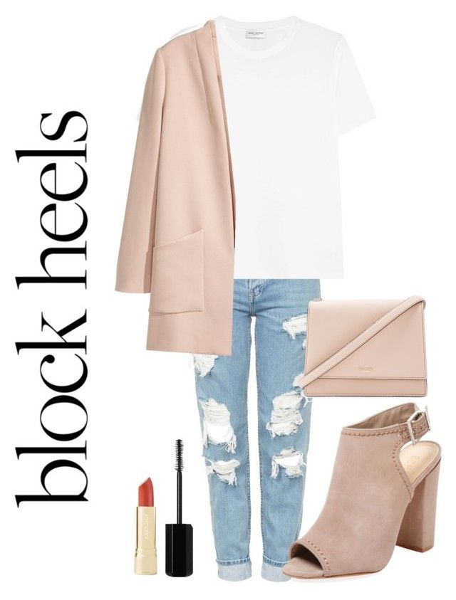 """""""brownie"""" by roselie1405x on Polyvore featuring Topshop, Schutz, Yves Saint Laurent, Marc Jacobs and Kate Spade"""
