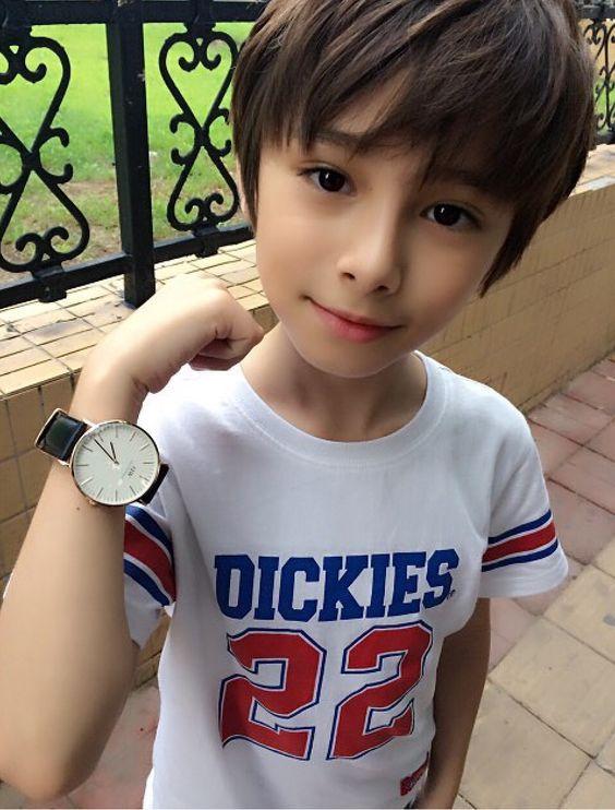 Asia teen boy