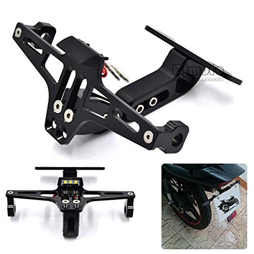 Adjustable License Plate Frames Holder Bracket With Plate light LED  https://www.amazon.co.uk/gp/product/B01MDUWJ83/ref=s9_dcacsd_dcoop_bw_c_x_3_w?th=1