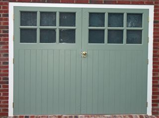 Priced Wooden Garage Doors