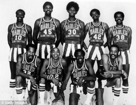 Harlem Globetrotters 1976-77 (featuring Meadowlark Lemon)  © Getty Images