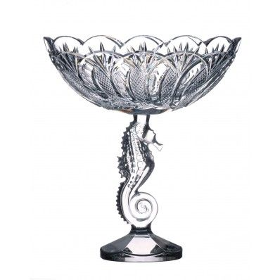 Waterford Crystal Seahorse Centrepiece Bowl. Available on  http://www.standun.com/waterford-crystal-seahorse-centrepiece-bowl.html