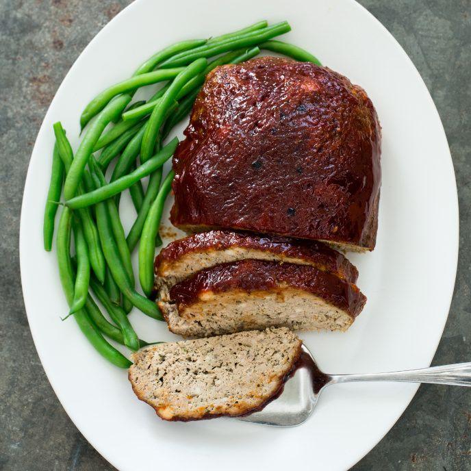 Glazed Meatloaf America S Test Kitchen