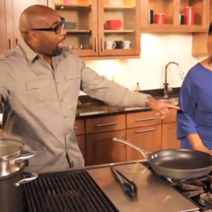 Chef G. Garvin | Bowtie Pasta with Shirley Strawberry