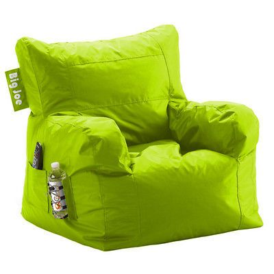 Big Joe Bean Bag Lounger Chair College Dorm Large Cozy