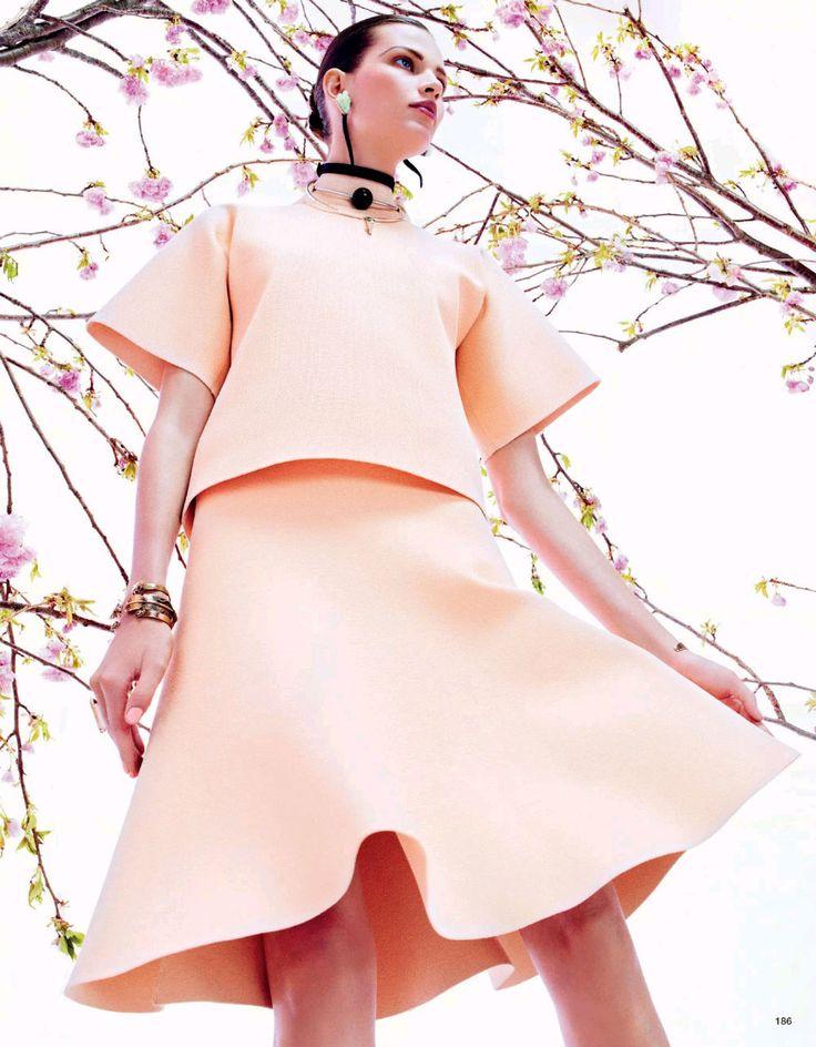 Bette Franke by Sharif Hamza for Vogue Japan August 2013