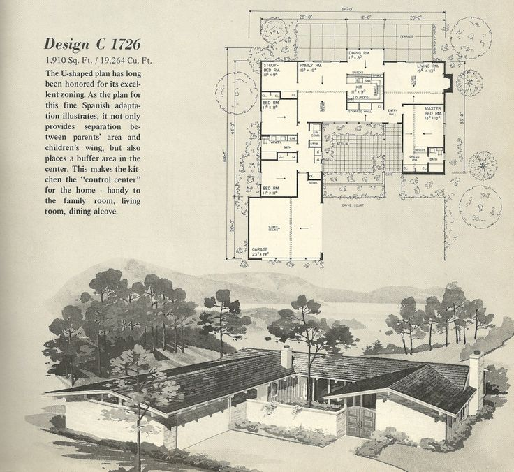 Old ranch home plans