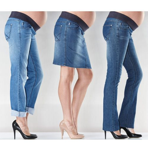 Soon Maternity Denim | Maternity jeans  as featured on The Daily Buzz