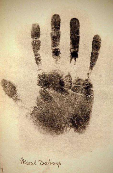 Marcel  Duchamp's  Hand