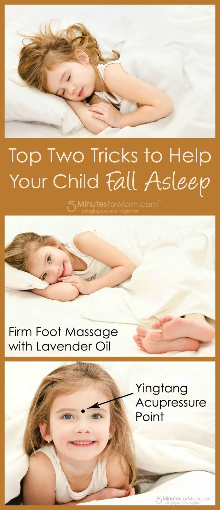Wondering how to get your child to fall asleep faster? Try these two sleep hacks to solve your child's sleep problems...