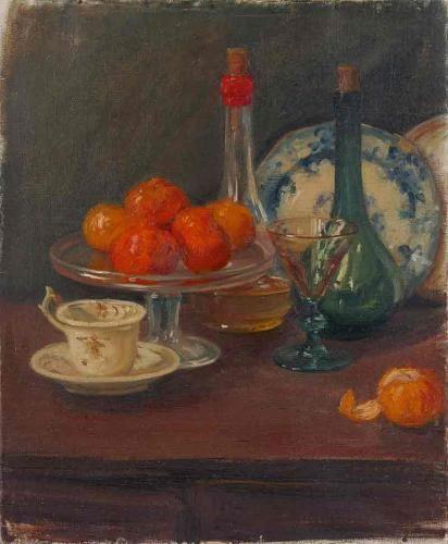 Margaret Preston, Still Life with Mandarins