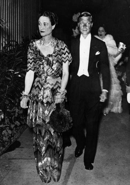 Wallis Simpson & The King