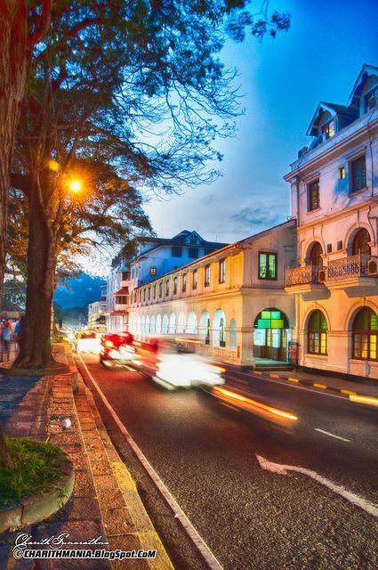 #6 Visit #Kandy, #Sri #Lanka - streets of Kandy Photographed by Charith Gunarathna. Kandy was the last capital of the ancient kings' era of Sri Lanka and a UNESCO world heritage city.