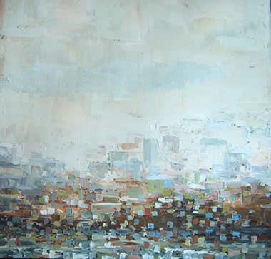 Sue Miller has yet to paint a canvas that doesn't move me. Her connection to the east coast comes through in most of her work.