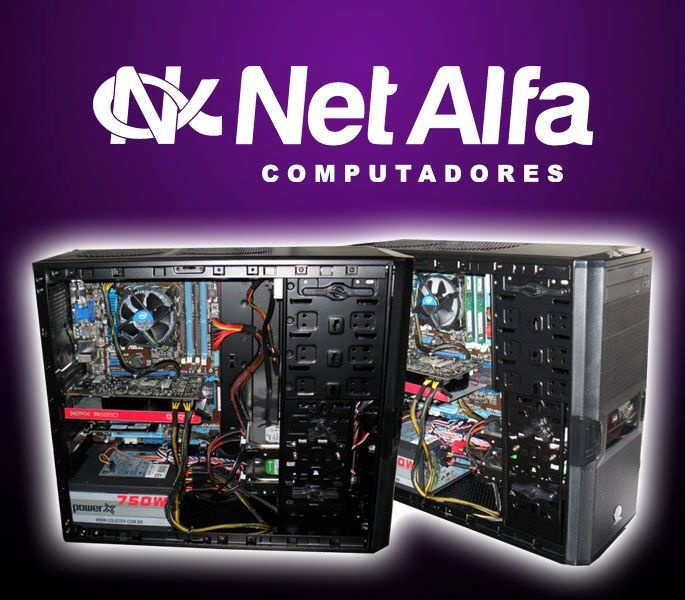 V3 Black Gamer  Esta maquina esta equipada com processador I7 3º geração, 8GB de memória, Placa Mãe Asus série P8H7-v LE, Fonte 750w reais, Gabinete Thermaltake V3, VGA Radeon HD6850 de 256bits XFX e duas HD sendo 1 de HD 1Tera e outro de HD 500GB  Acesse nosso site e fique por dentro das novidades da tecnologia  http://www.netalfa.com.br/
