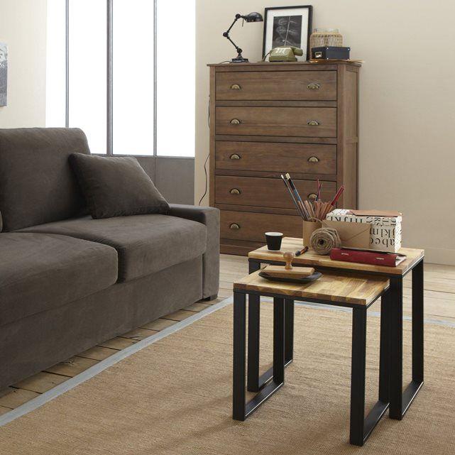 1000 ideas about table basse gigogne on pinterest table. Black Bedroom Furniture Sets. Home Design Ideas