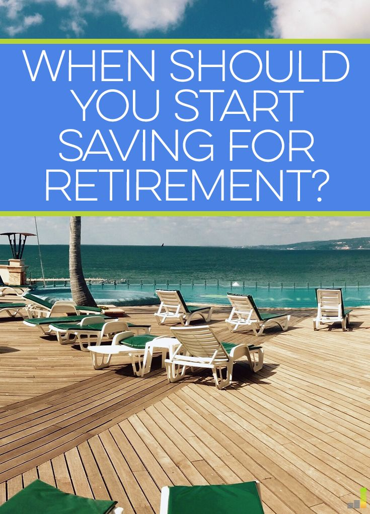 When should you start saving for retirement? It's not really a simple question to ask. Here are things to consider as you start planning for retirement.