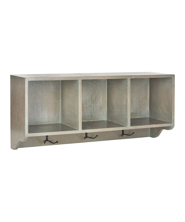Look at this Ash Gray Joey Wall Shelf on #zulily today!